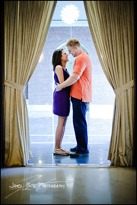 omaha nebraska, magnolia hotel, omaha engagement, old market, NE wedding photography