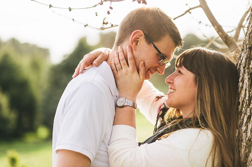 Brittany And John Pioneers Park Engagement Lincoln Ne