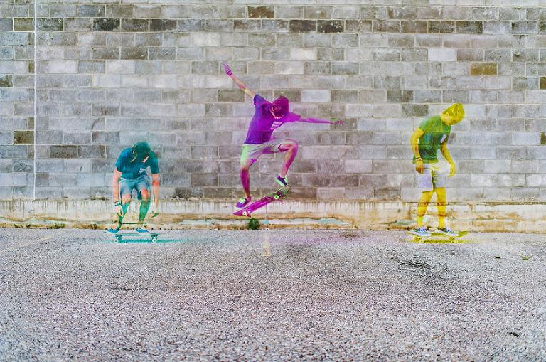 skateboarding, harris shutter