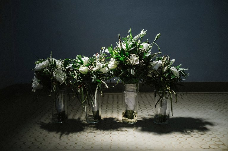 bouquet, contrast, lighting